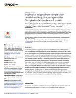 Biophysical insights from a single chain camelid antibody directed against the Disrupted-in-Schizophrenia 1 protein